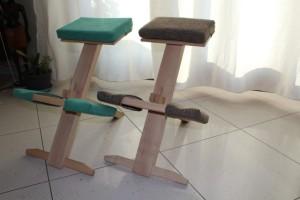 Sgabelli ergonomici sgabello ergonomico con ruote wing balans di